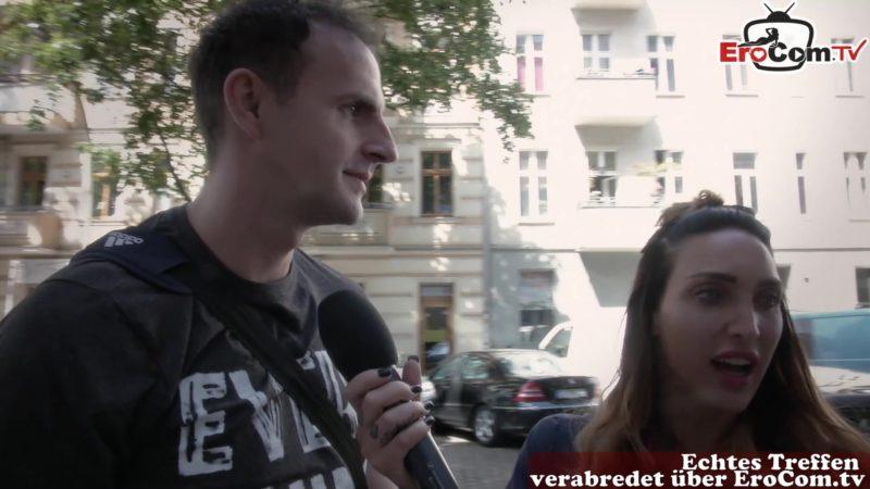 Deutsches Pornocasting für Blinddate mit Sex
