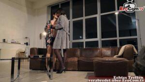 Lesben machen Schere und Oralsex Valentina Bianco